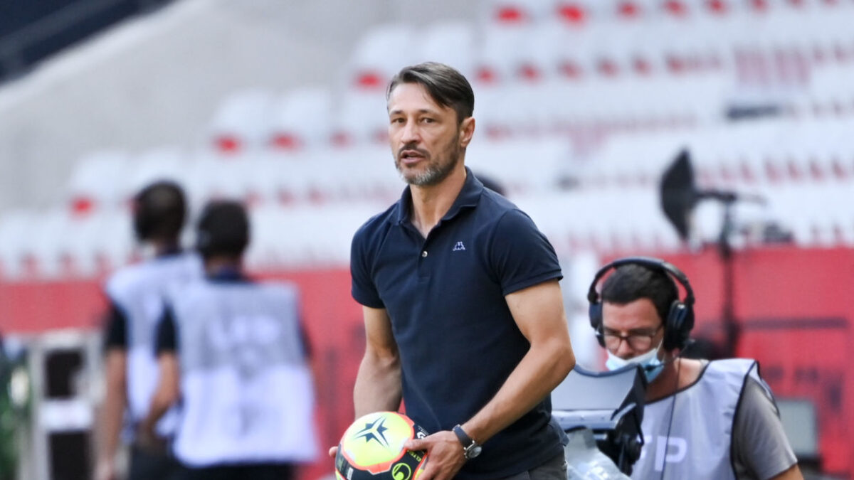 Niko Kovac, l'entraîneur de Monaco. Icon Sport