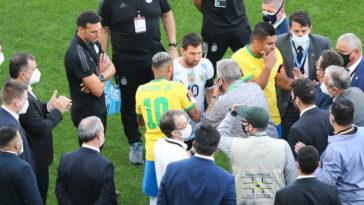 Le match Brésil-Argentine a été suspendu pour violation du protocole sanitaire. Icon Sport