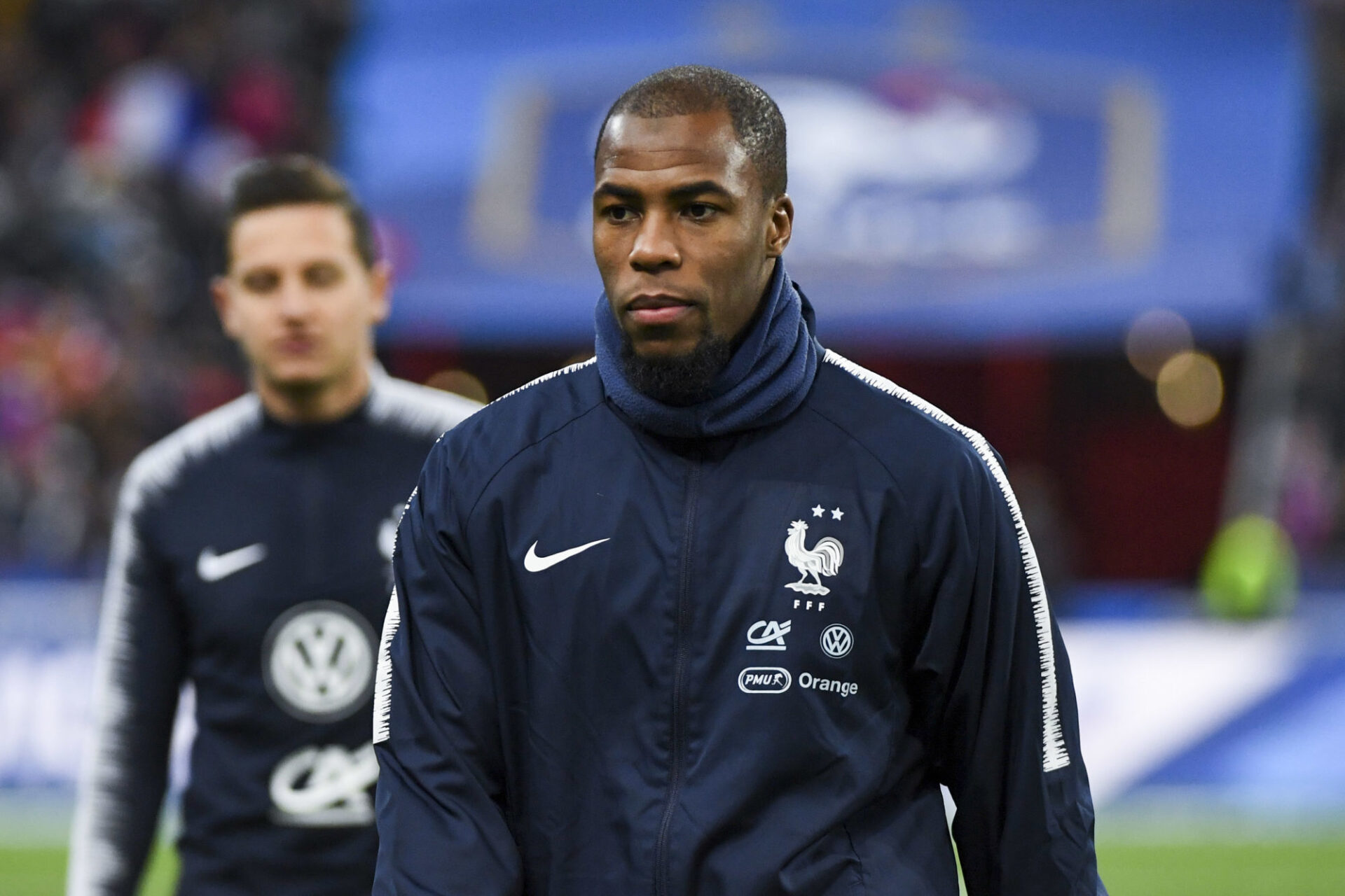 Djibril Sidibé n'a plus été appelé en équipe de France depuis octobre 2019. Icon Sport