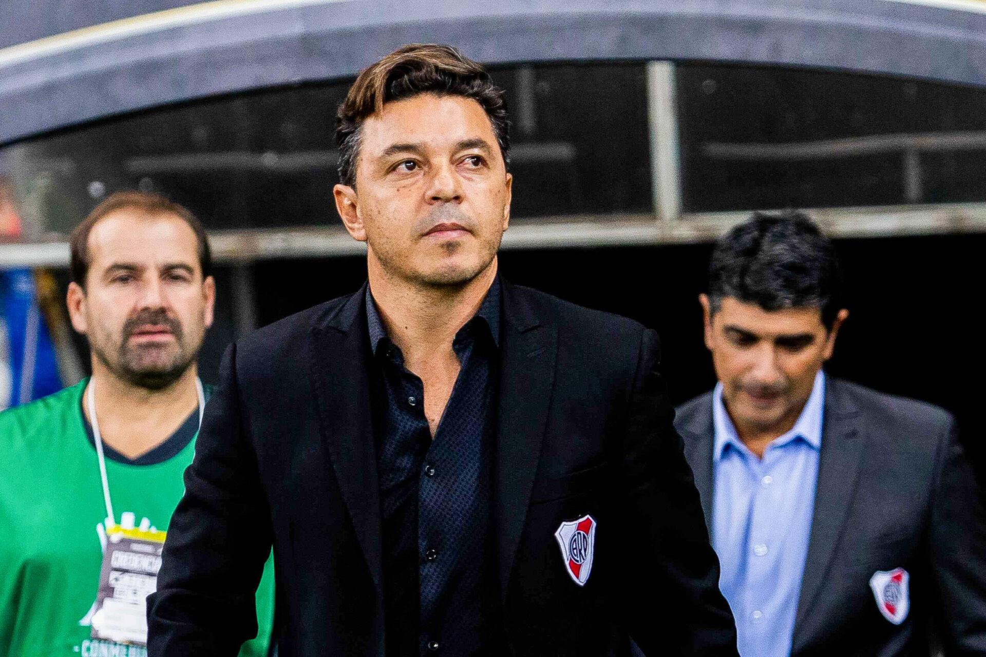 La direction du Barça penserait également à Marcelo Gallardo, dont le contrat à River Plate expire à la fin de l'année (iconsport)