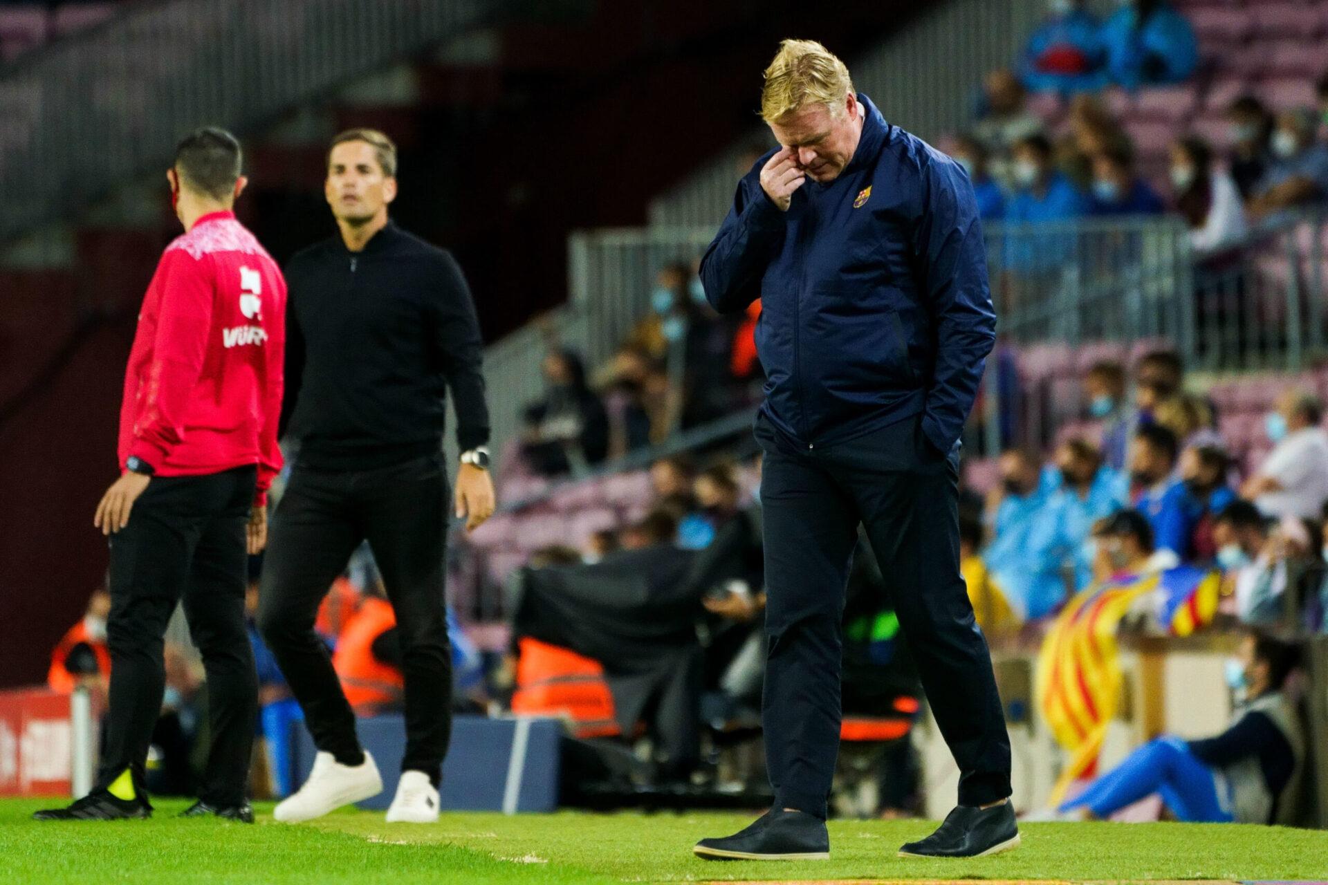 Le FC Barcelone de Ronald Koeman a perdu son identité de jeu et l'a montré face à Grenade. Icon Sport