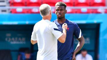 Paul Pogba et Didier Deschamps (IconSport)