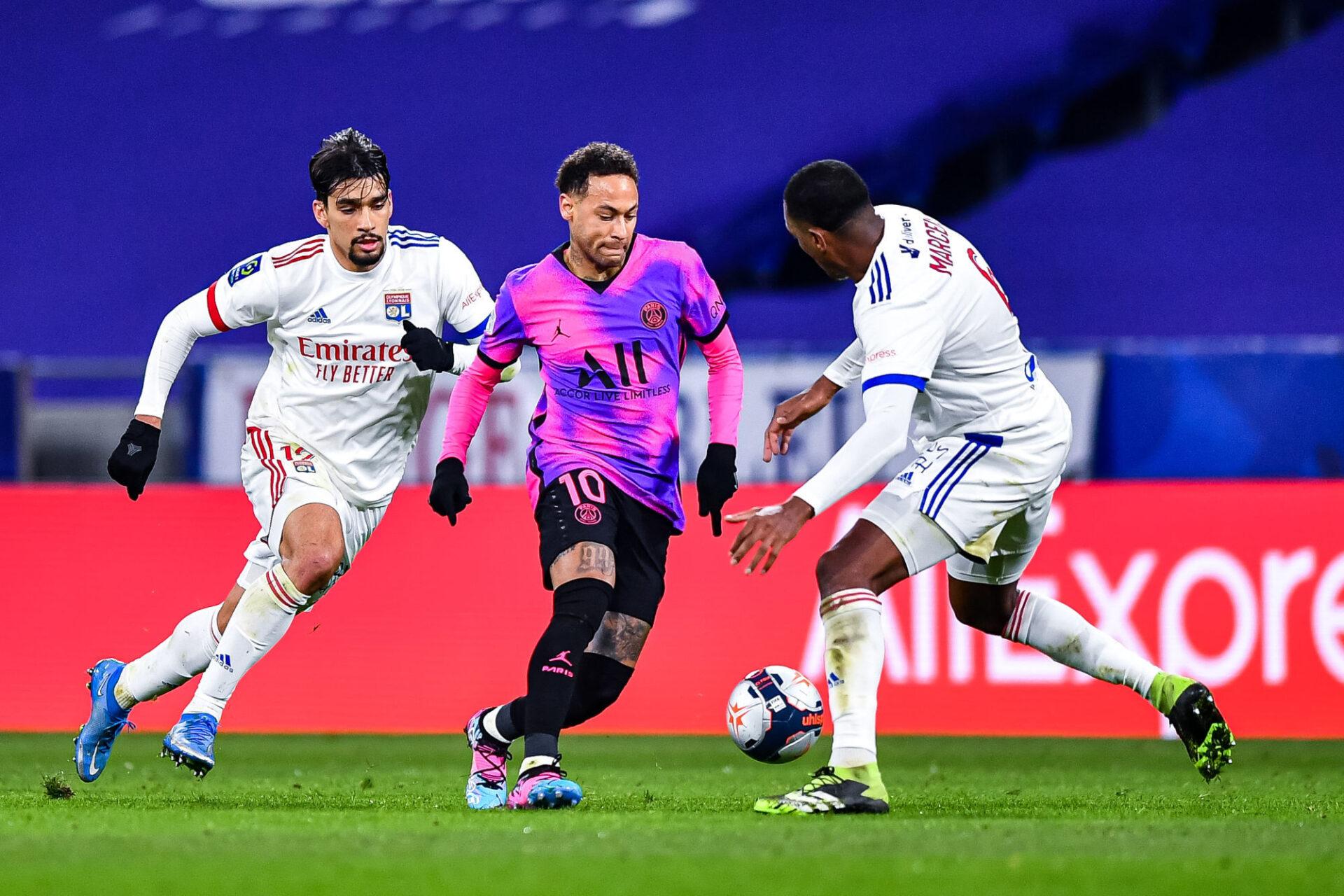 Le PSG et Lyon avaient fait le spectacle la saison dernière, avec une victoire 4-2 des coéquipiers de Neymar au Groupama Stadium. Icon Sport