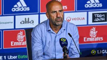Peter Bosz était en conférence de presse avant le choc face au PSG (iconsport)