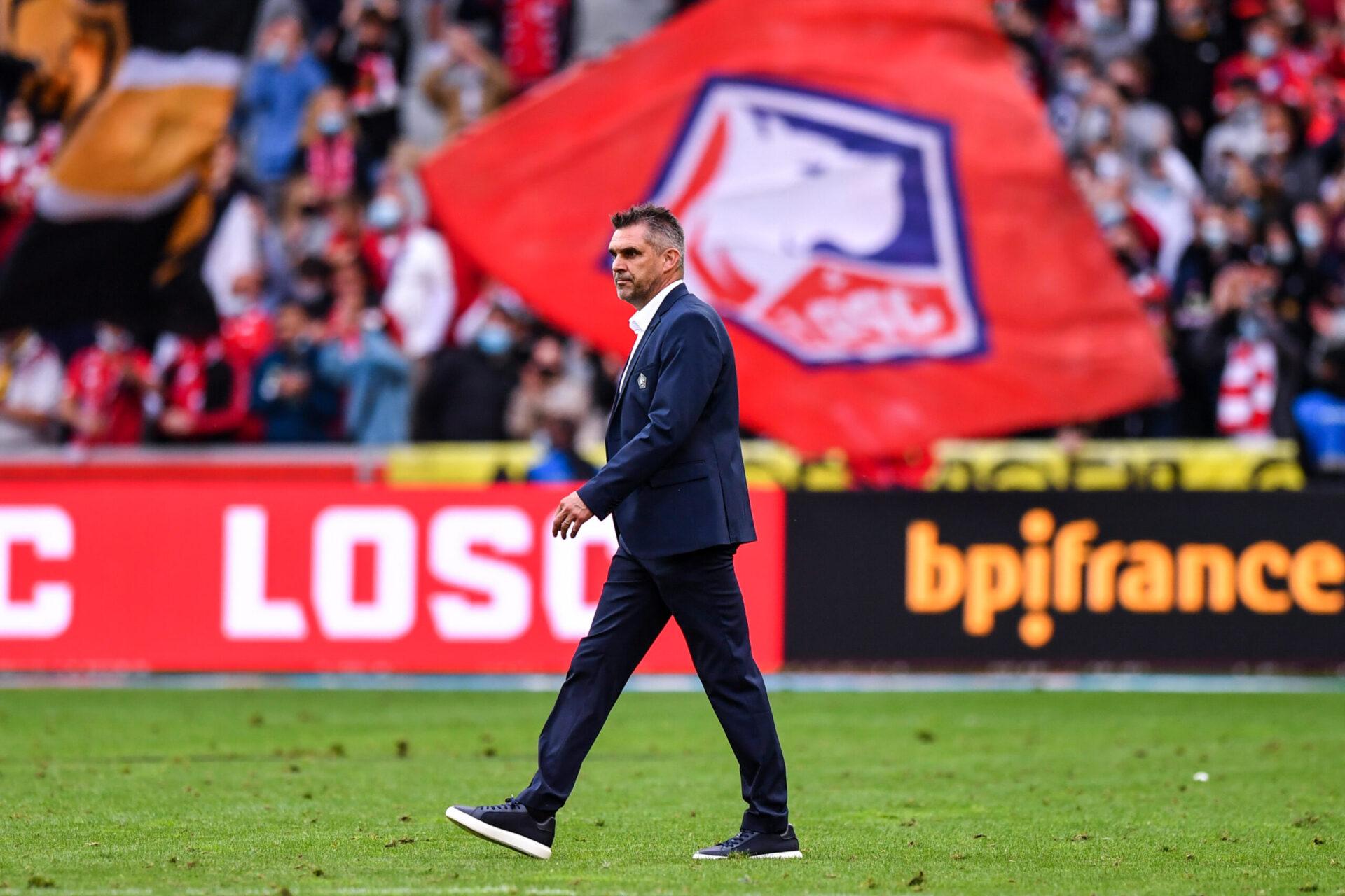 Arrivé à Lille cet été, Jocelyn Gourvennec va diriger sa première rencontre de Ligue des champions (iconsport)
