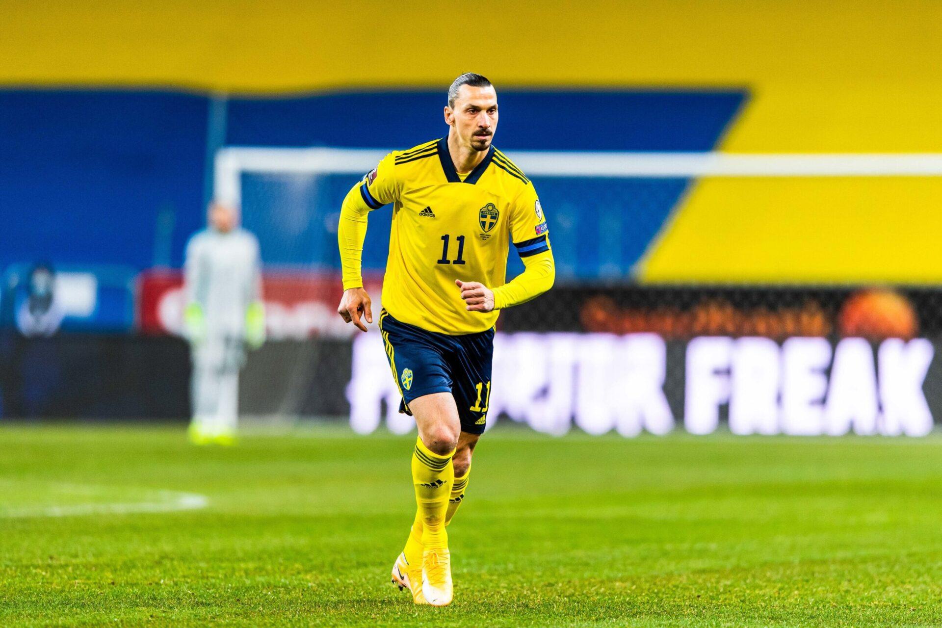 Andersson espère pouvoir compter sur le meilleur buteur de l'histoire de sa sélection pour les prochains matchs de la Suède (iconsport)