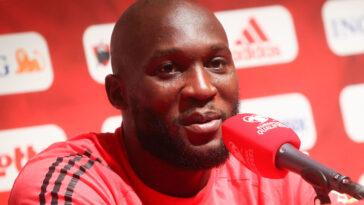 Romelu Lukaku était en conférence de presse avec la Belgique samedi 4 septembre. Icon Sport