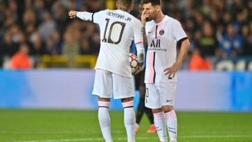Neymar a bien proposé son numéro 10 à Messi (iconsport)