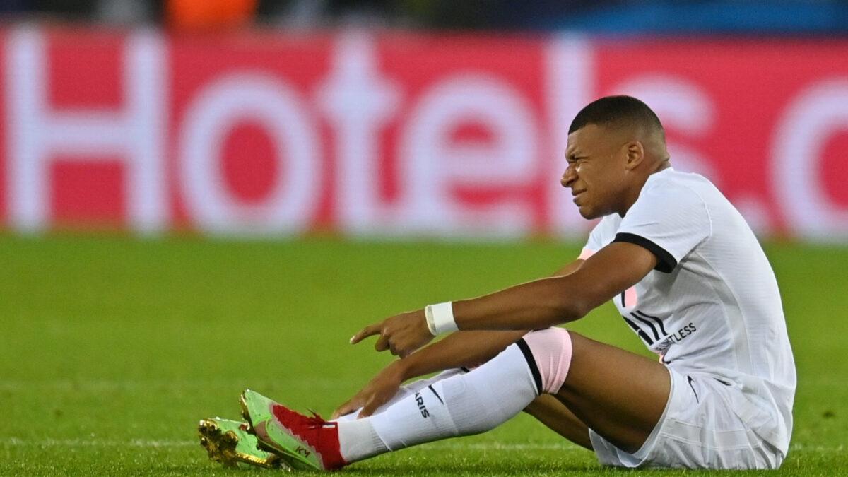 Kylian Mbappé incertain pour le choc face à l'OL (iconsport)