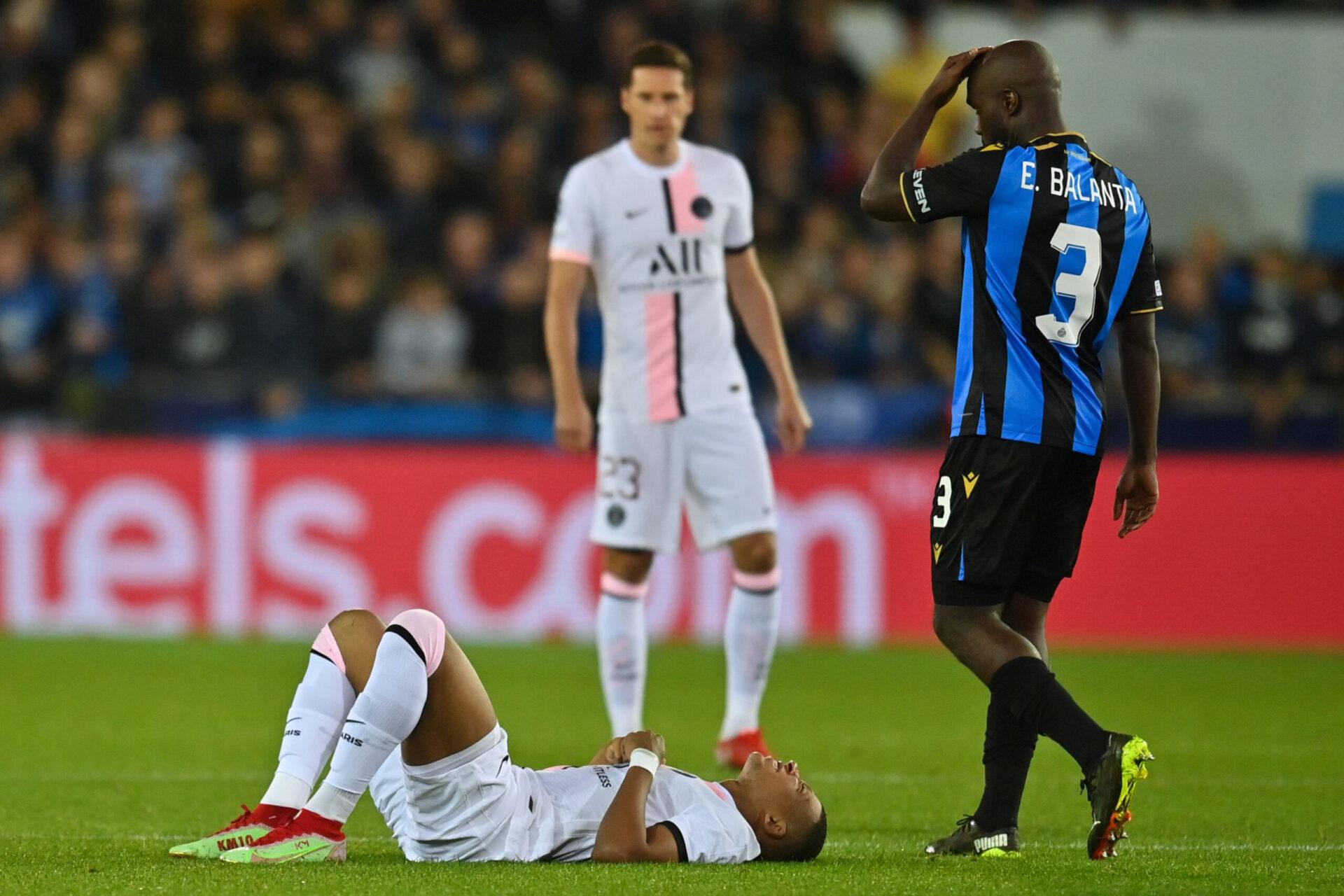 Kylian Mbappé pourrait manquer Paris - Lyon ce dimanche (iconsport)