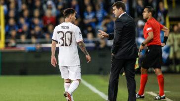 Mauricio Pochettino espère pouvoir compter sur Lionel Messi face à City (iconsport)