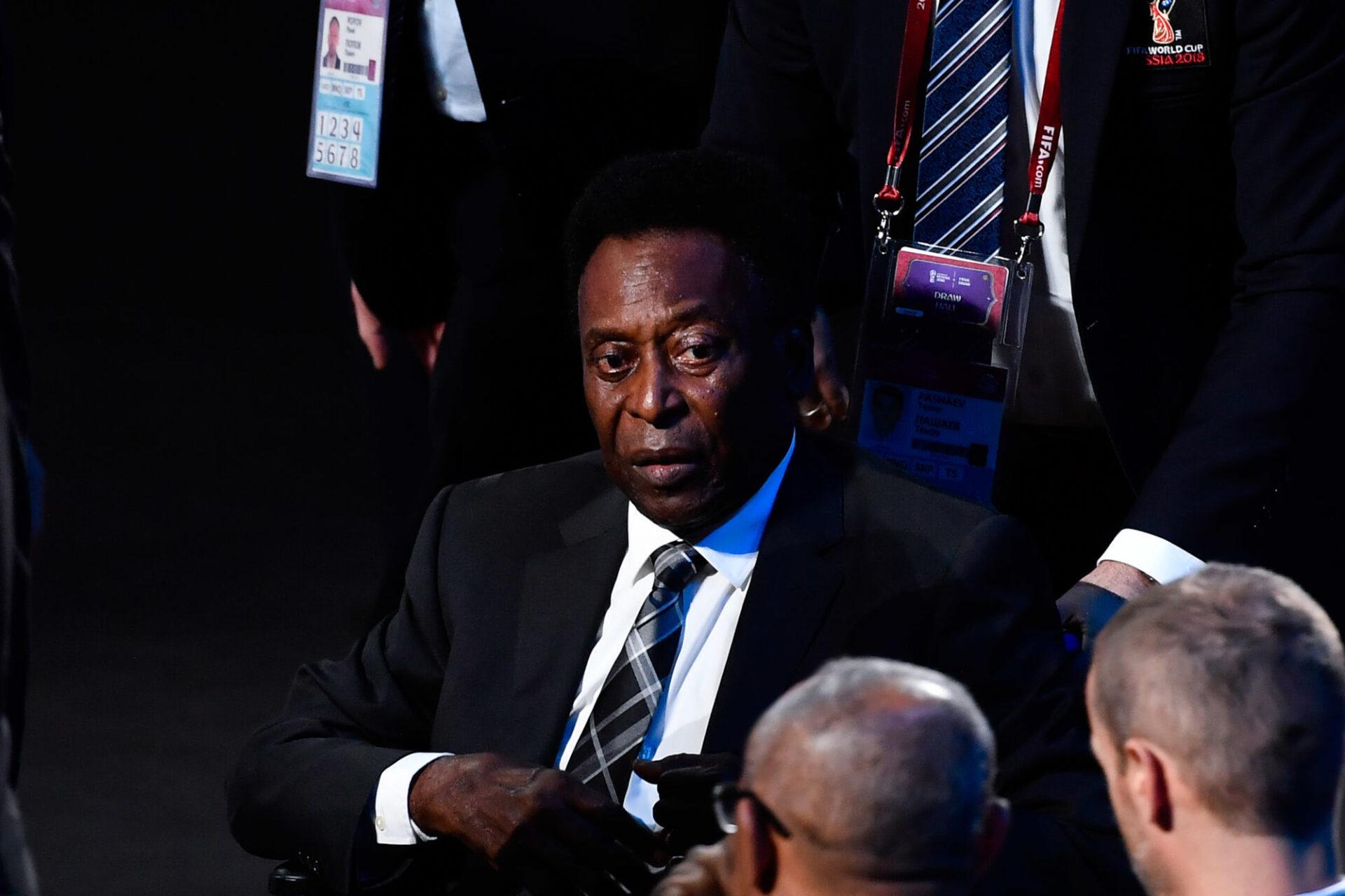 Pelé serait toujours à l'hôpital après son opération. Icon Sport