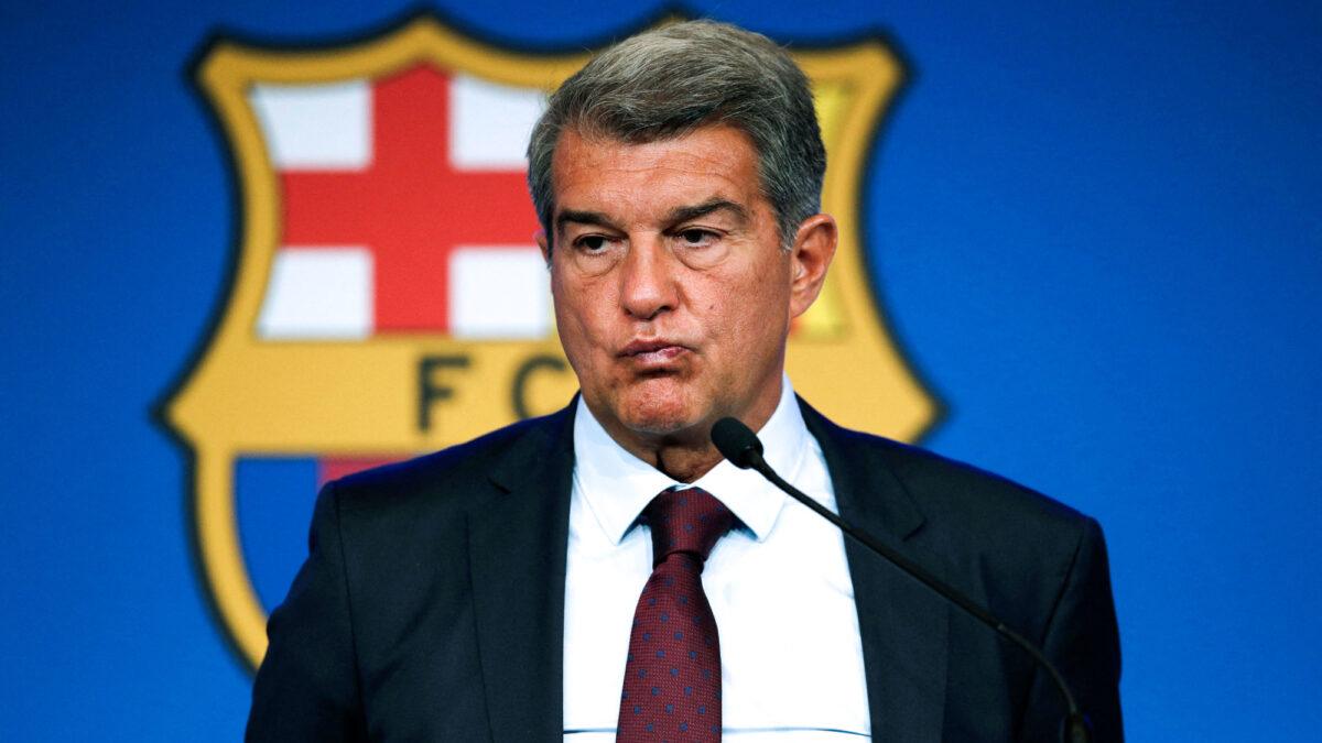 Joan Laporta a convoqué une réunion de crise au sommet après la défaite du Barça contre le Bayern. Icon Sport
