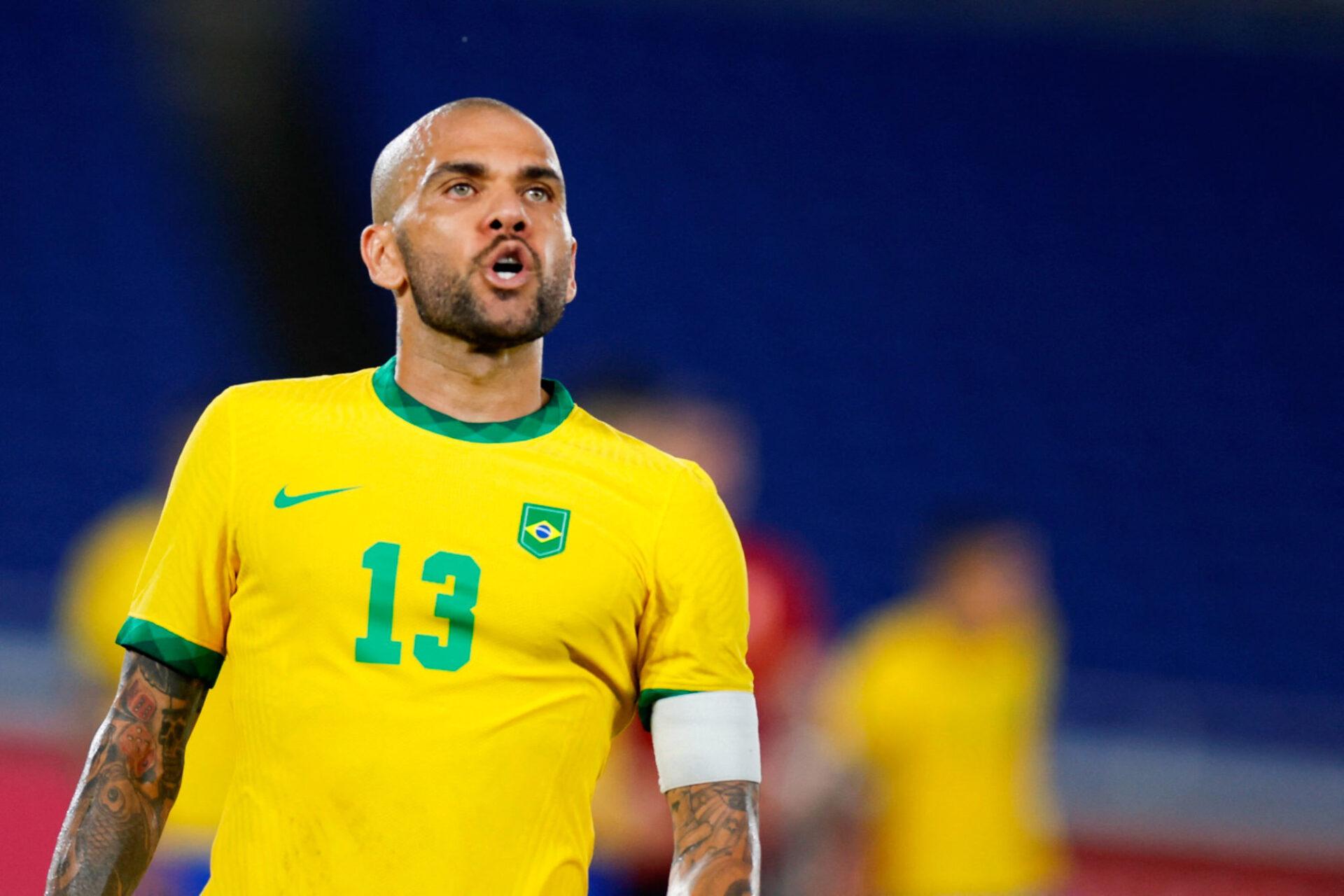 A 38 ans, Dani Alves est encore performant, comme il l'a montré aux Jeux Olympiques cet été, qu'il a remportés avec le Brésil. Icon Sport