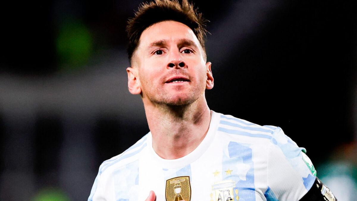 Lionel Messi, avec 79 buts en sélection, devient le meilleur buteur d'Amérique du Sud, devant Pelé. Icon Sport