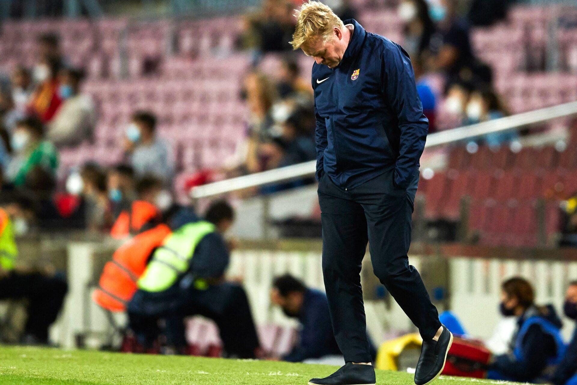Le prochain match de Koeman à la tête du Barça pourrait décider de son futur (iconsport)