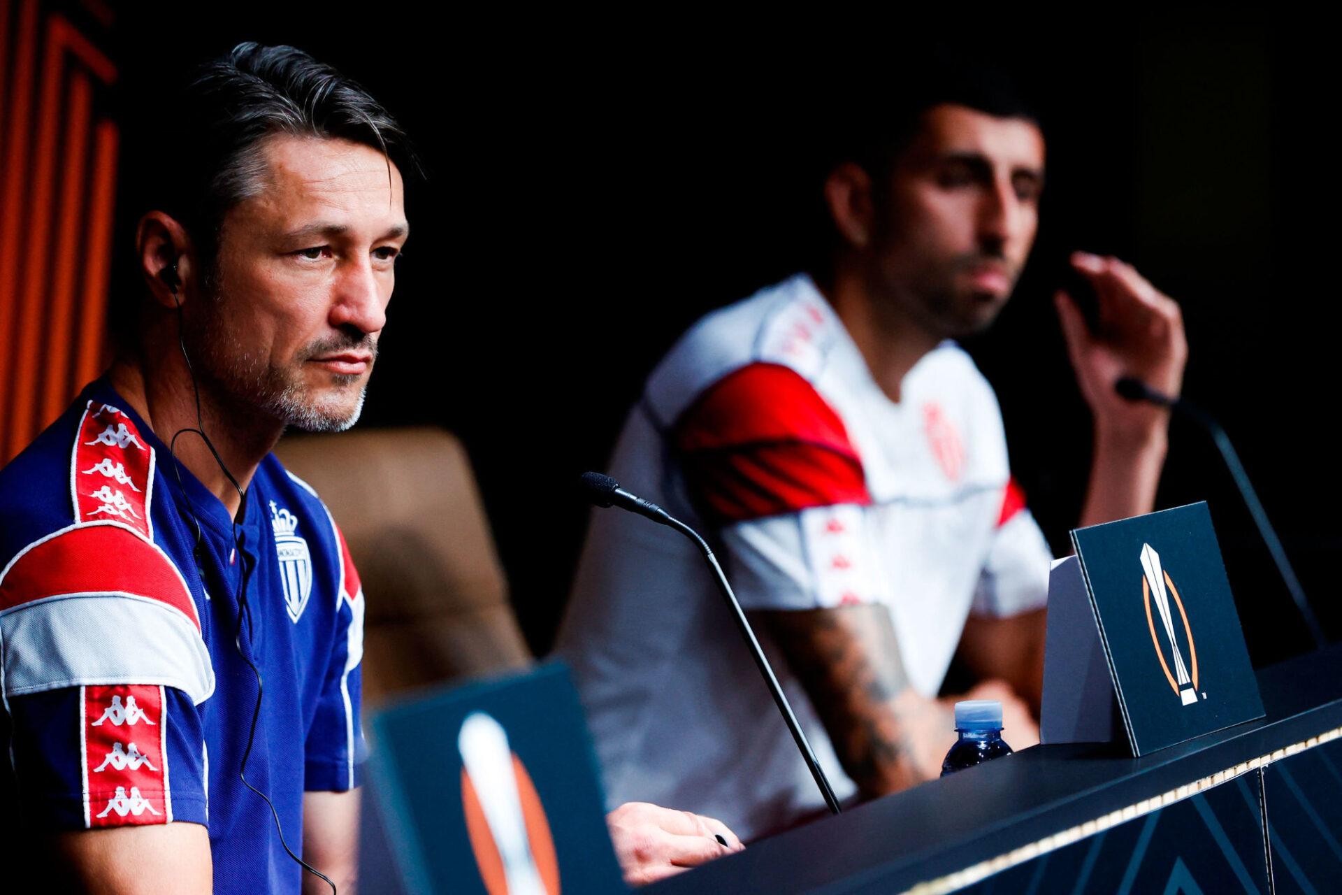 Niko Kovac était en conférence de presse avec son défenseur Guillermo Maripan. Icon Sport