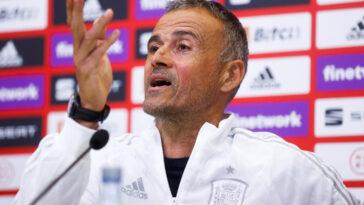 """Luis Enrique, sélectionneur de l'Espagne, a retenu 23 joueurs dont le très jeune Gavi pour le """"Final 4"""" de Ligue des nations (iconsport)"""