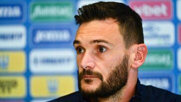 Hugo Lloris était en conférence de presse ce vendredi 3 septembre. Icon Sport