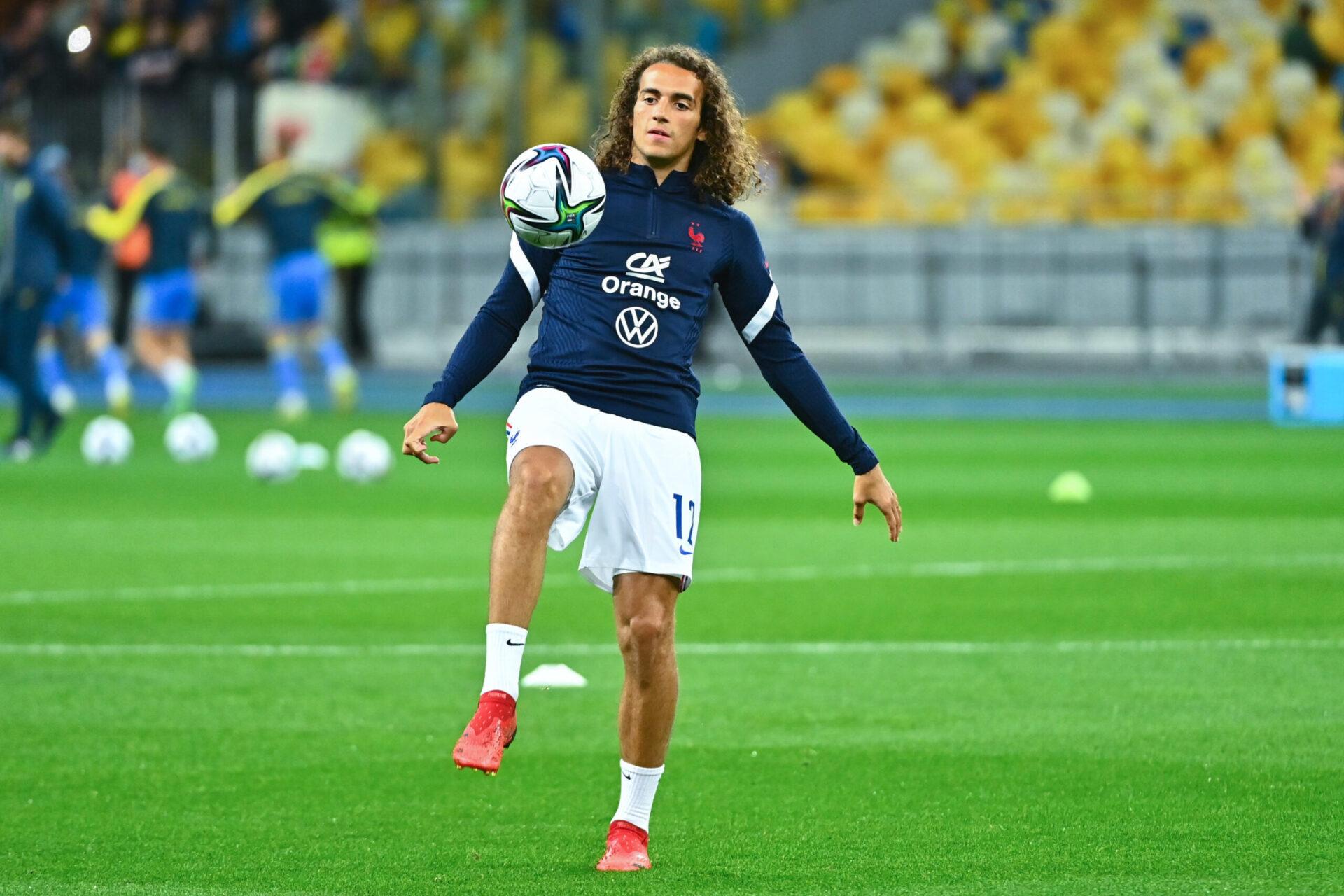 Mattéo Guendouzi a été rappelé par Didier Deschamps pour le rassemblement du mois d'octobre 2021. Icon Sport
