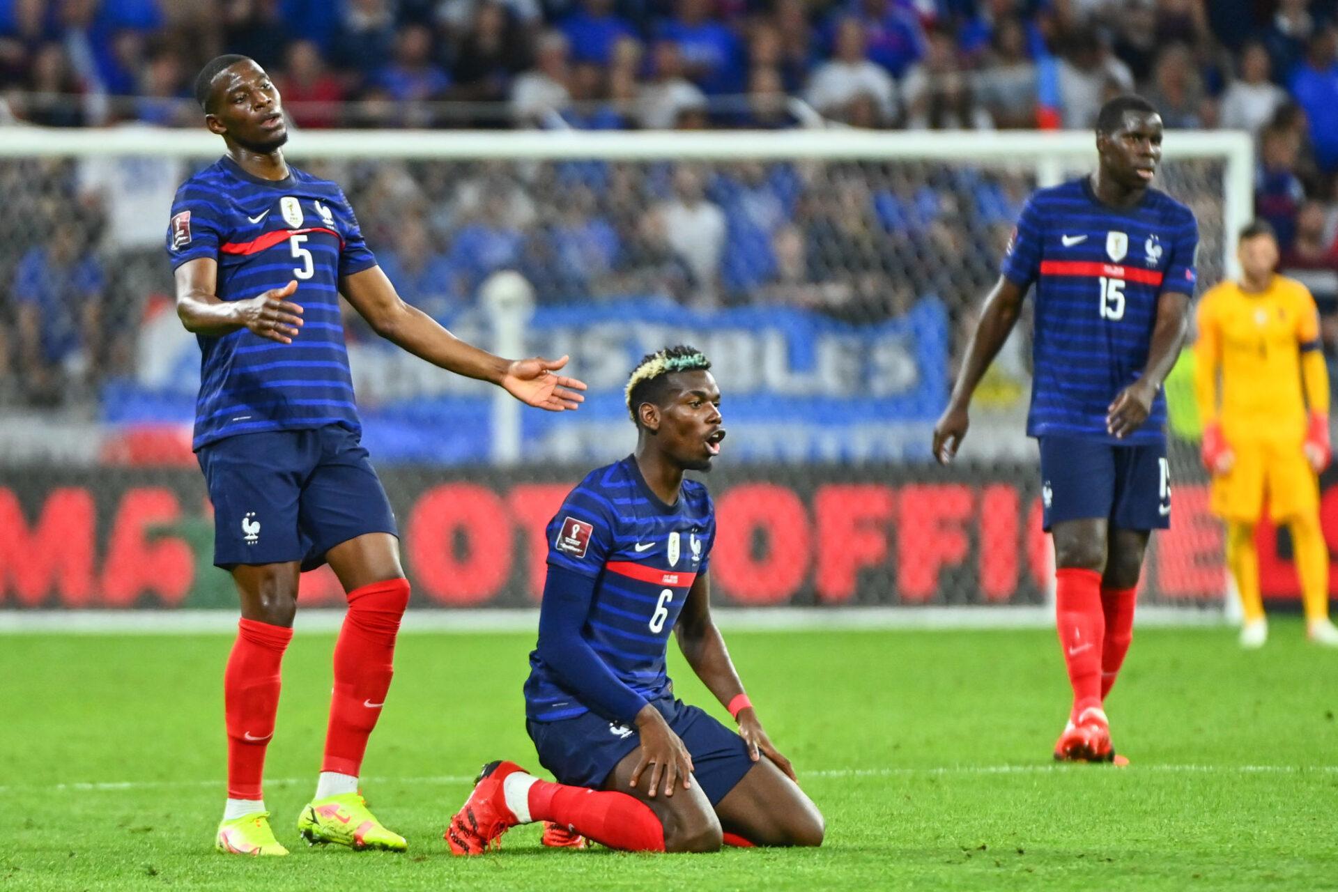 Paul Pogba veut que les Bleus réagissent. Icon Sport