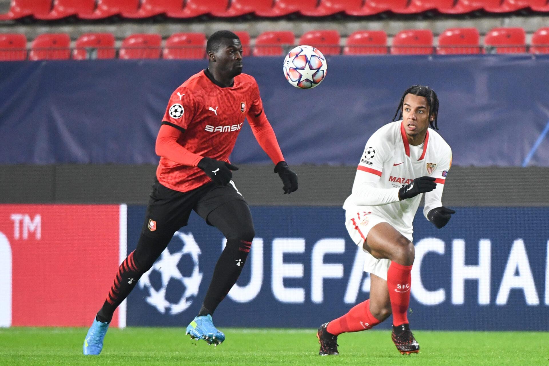 M'Baye Niang n'est plus apparu avec Rennes depuis le mois de janvier (iconsport)