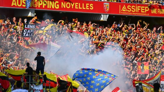 Les Sang et Or ont fait connaître les sanctions prises contre les supporters ayant envahi le terrain face à Lille (iconsport)