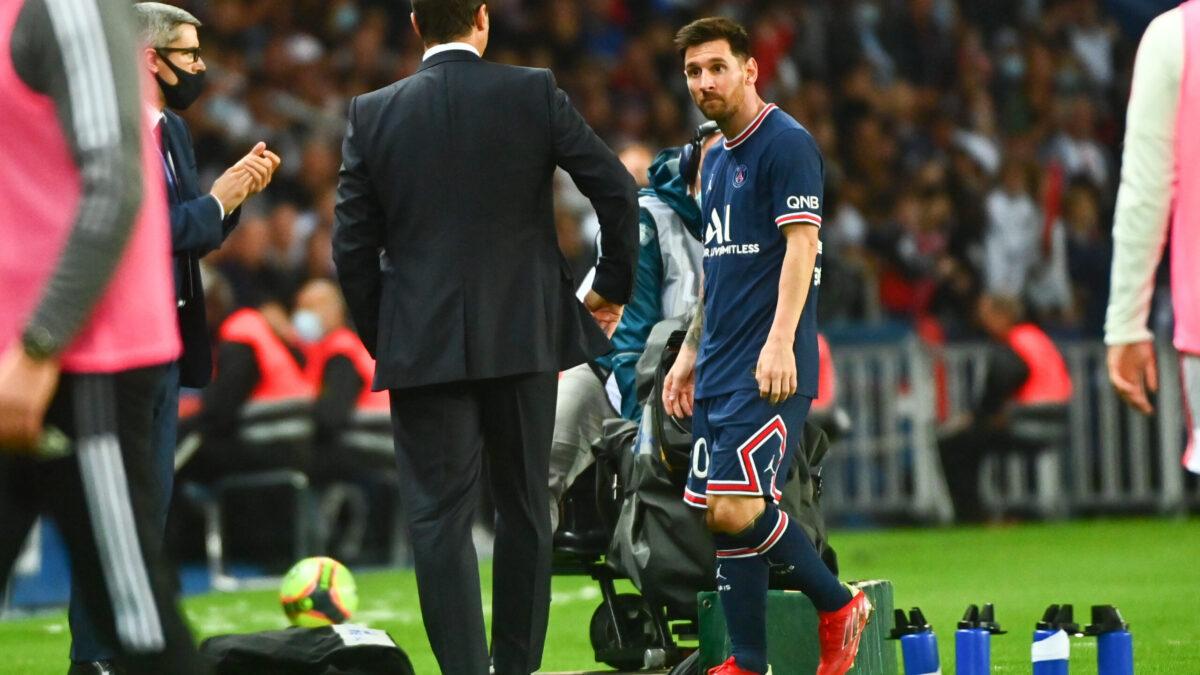 Lionel Messi n'a pas compris sa sortie face à l'OL (iconsport)