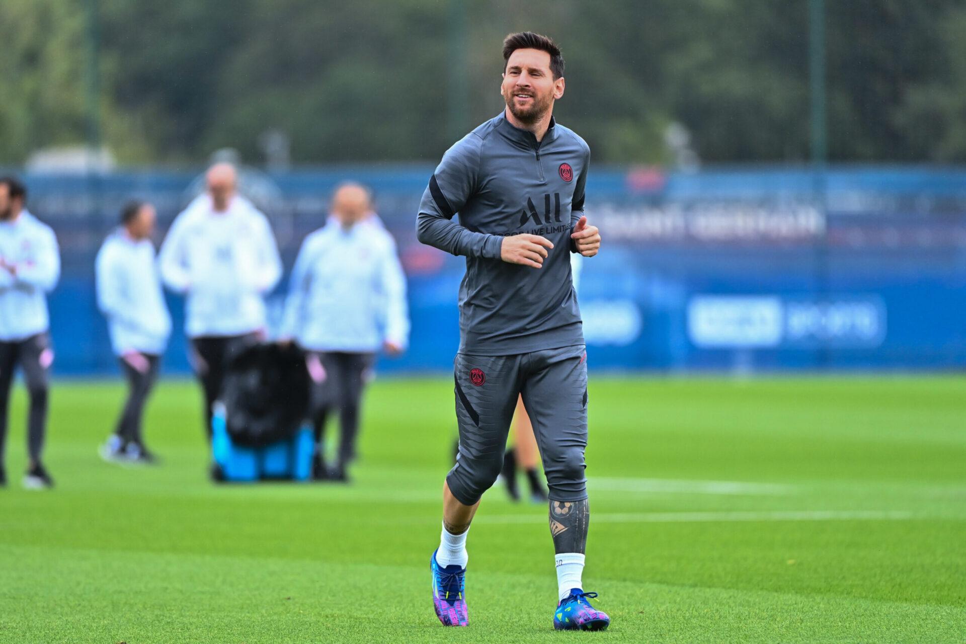 Absent depuis sa sortie contre Lyon, Messi effectue son retour à l'occasion de la réception de Manchester City (iconsport)