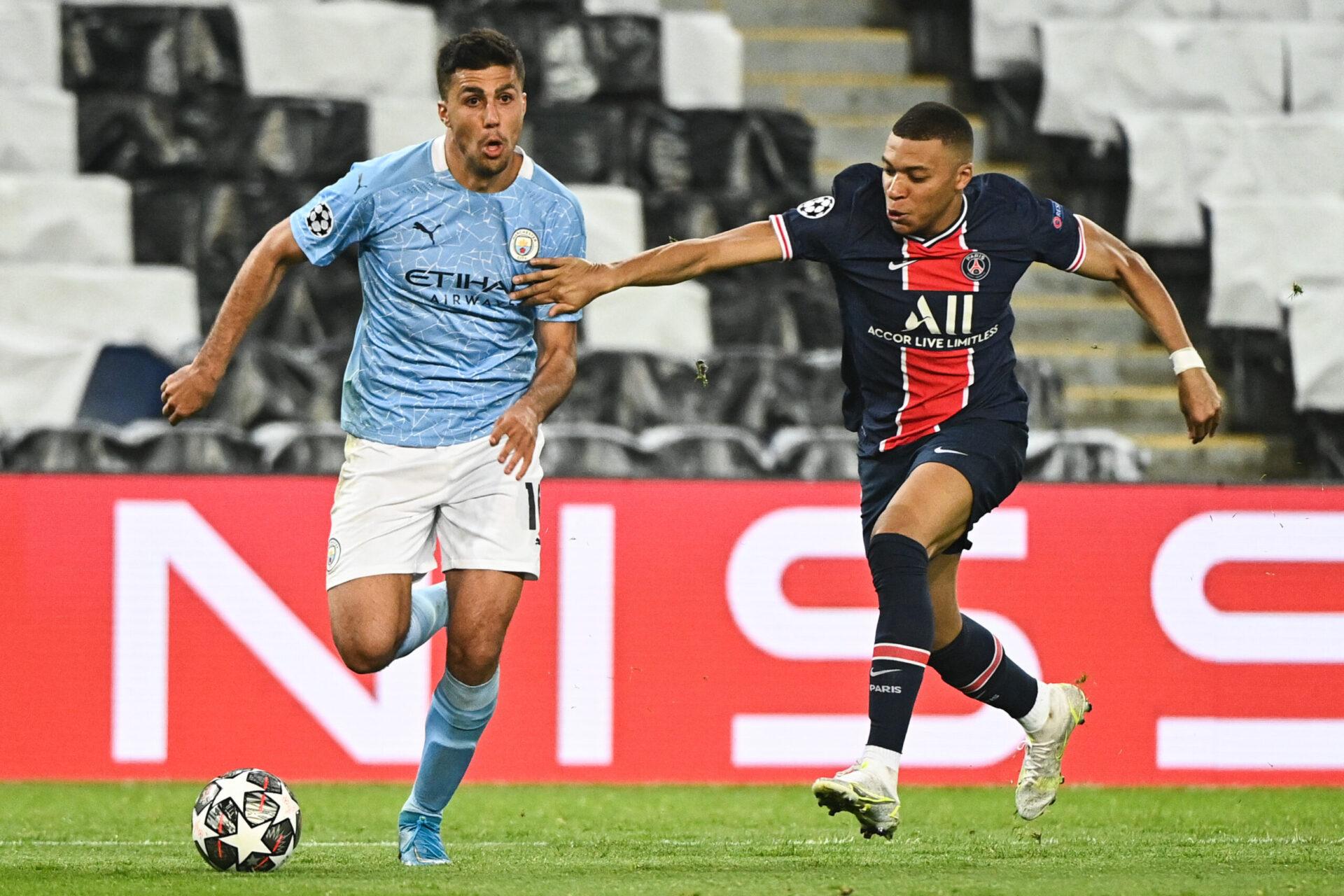 Absent lors de la demi-finale retour, Kylian Mbappé sera bien présent contre Manchester City (iconsport)