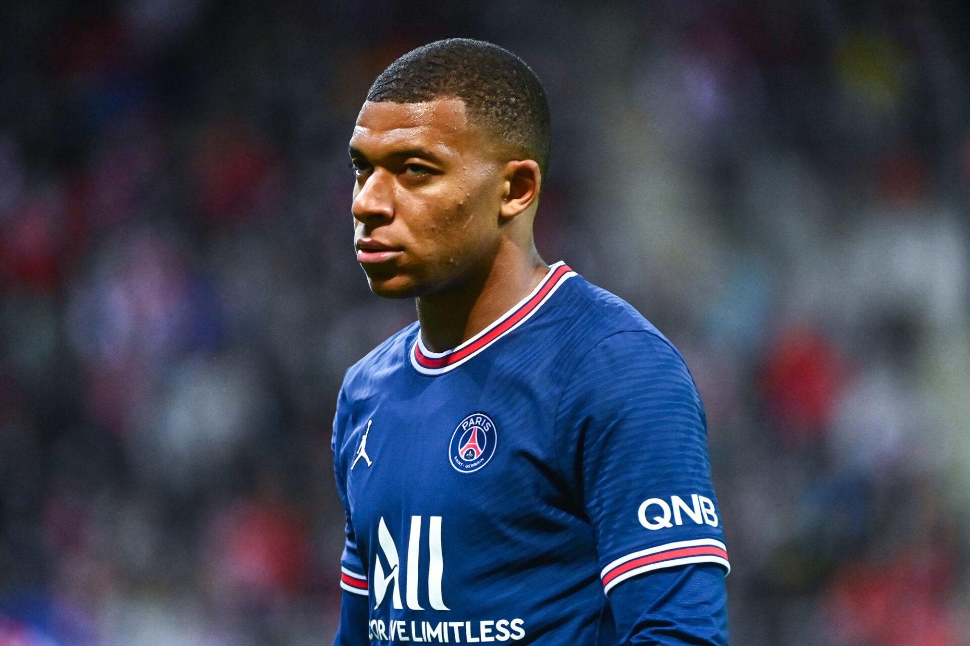 """Kylian Mbappé aurait été retenu """"contre son gré"""" par le PSG. Icon Sport"""