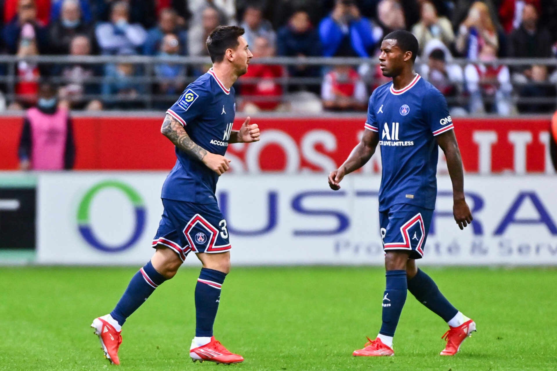 Wijnaldum reconnaît qu'avec son effectif le PSG est le favori de la Ligue des champions (iconsport)
