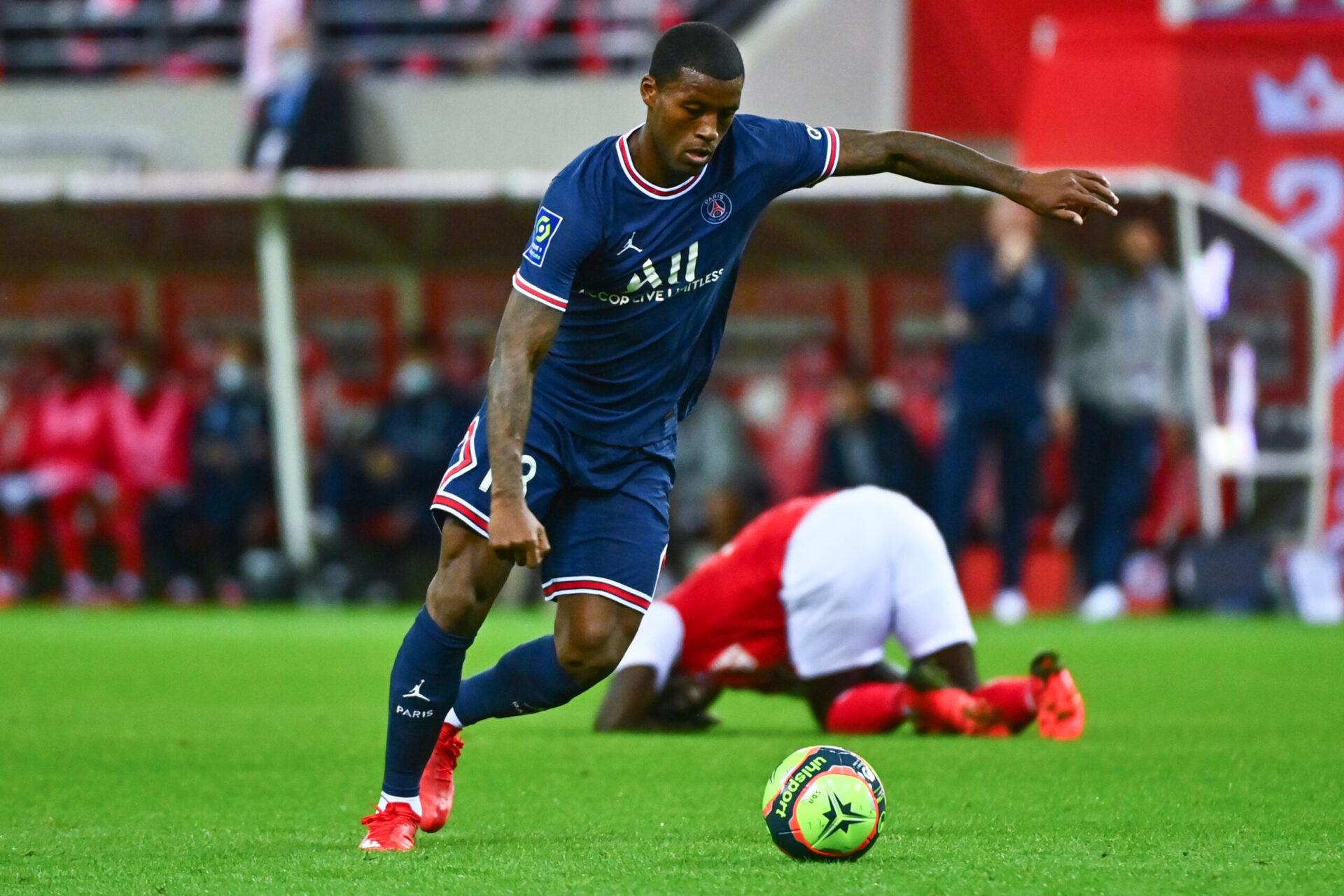 À Bruges, Wijnaldum va disputer son premier match de Ligue des champions avec le PSG (iconsport)
