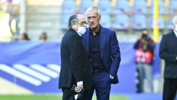 Noël Le Graët a révélé pourquoi il n'avait pas prolongé Didier Deschamps à la tête de l'équipe de France. Icon Sport