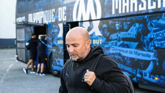Jorge Sampaoli est inquiet par la multiplication des incidents entre supporters dans les stades de Ligue 1. Icon Sport