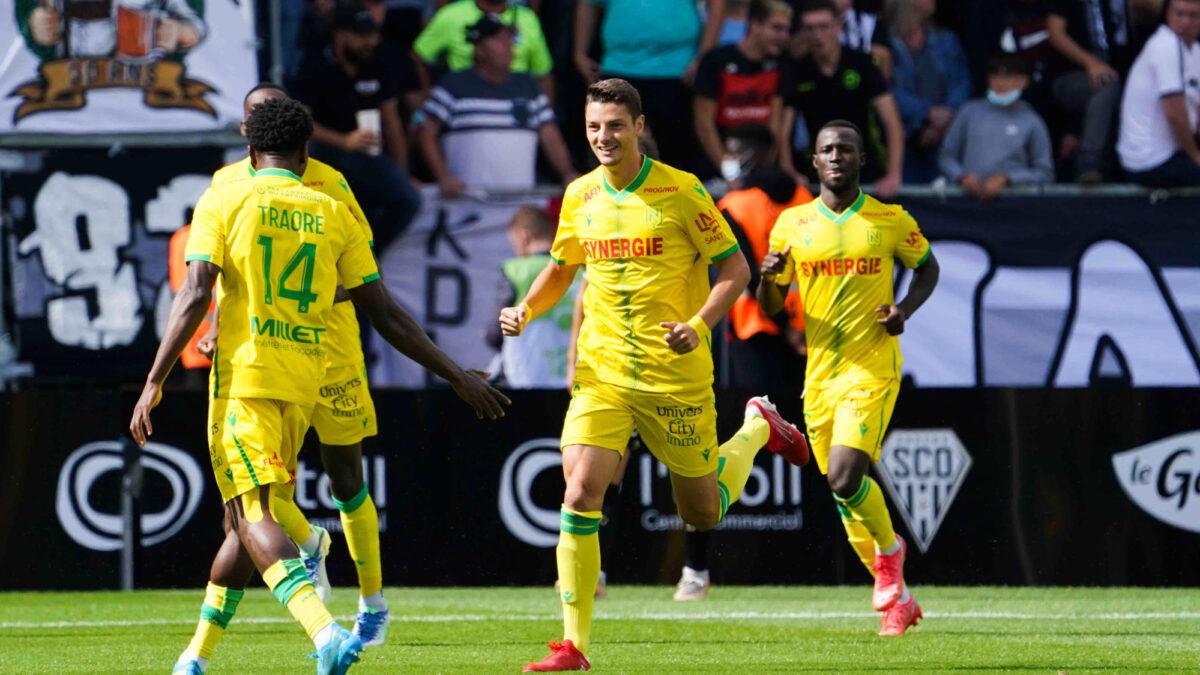 Nantes a torpillé Angers (1-4) ce dimanche 19 septembre. Icon Sport