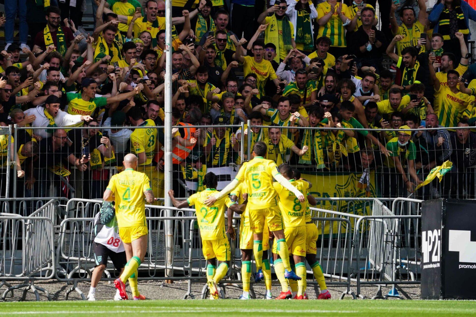 Nantes a fait valser Angers (1-4) à l'extérieur. Icon Sport