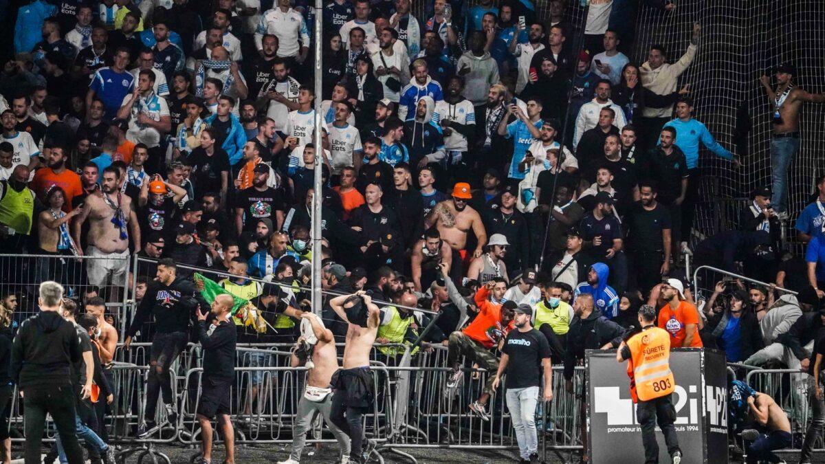 Les premières sanctions contre l'OM et Angers sont tombées. Icon Sport
