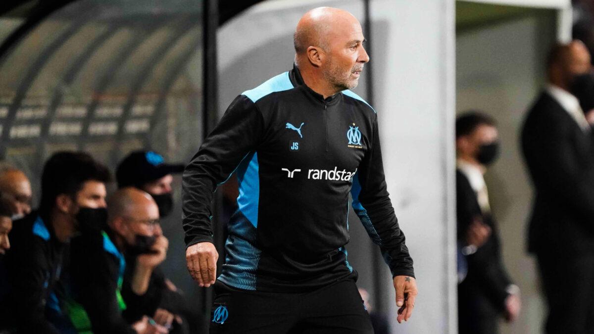 La réaction de Jorge Sampaoli après le nul de son équipe face à Angers (iconsport)