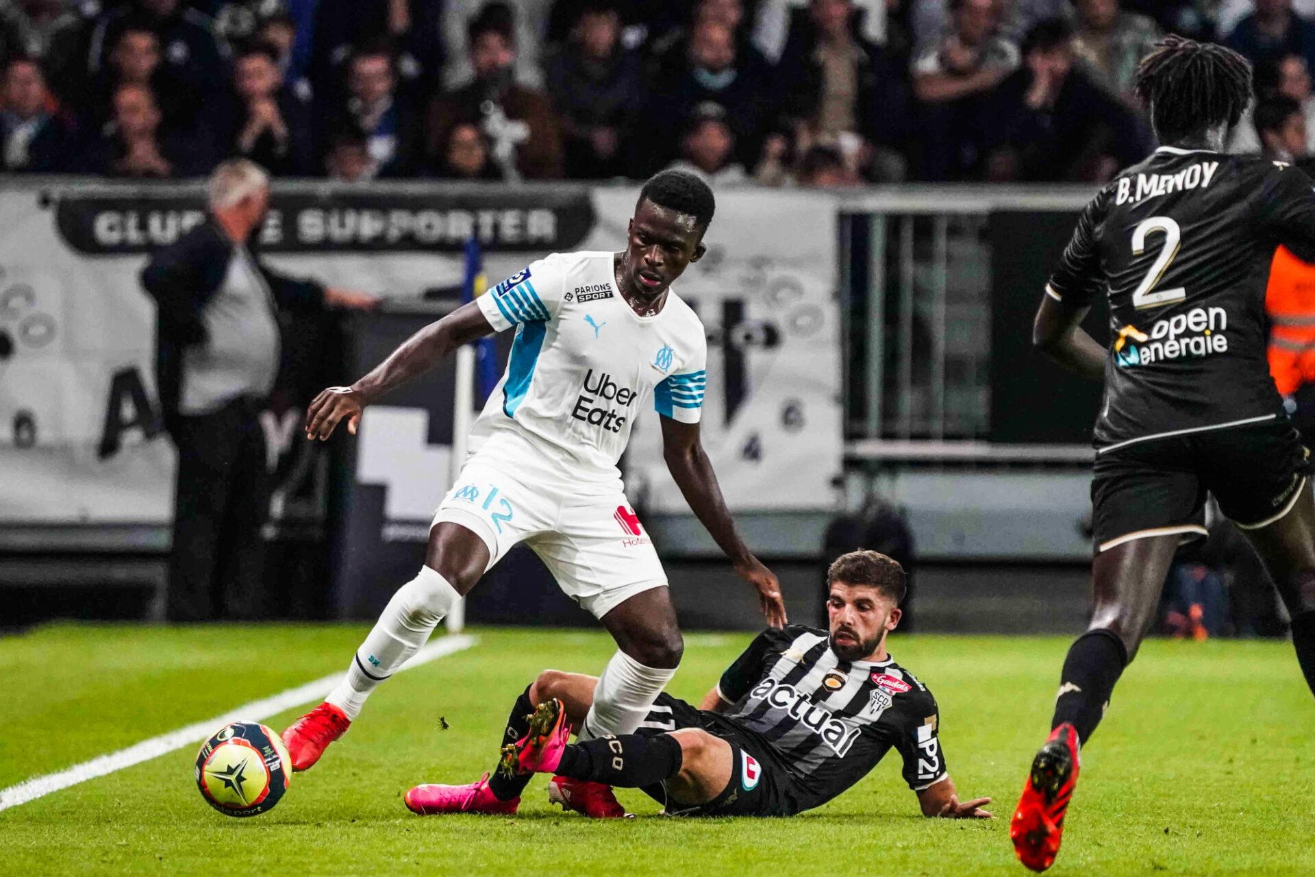 Buteur face à Rennes et Monaco, Dieng n'a pas trouvé la clé du coffre angevin (iconsport)