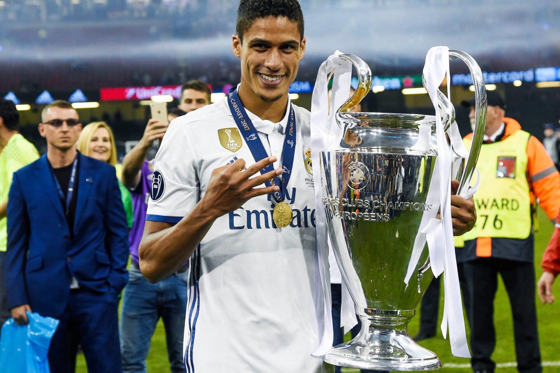 Raphaël Varane a tout remporté avec le Real Madrid, dont quatre Ligues des champions (iconsport)