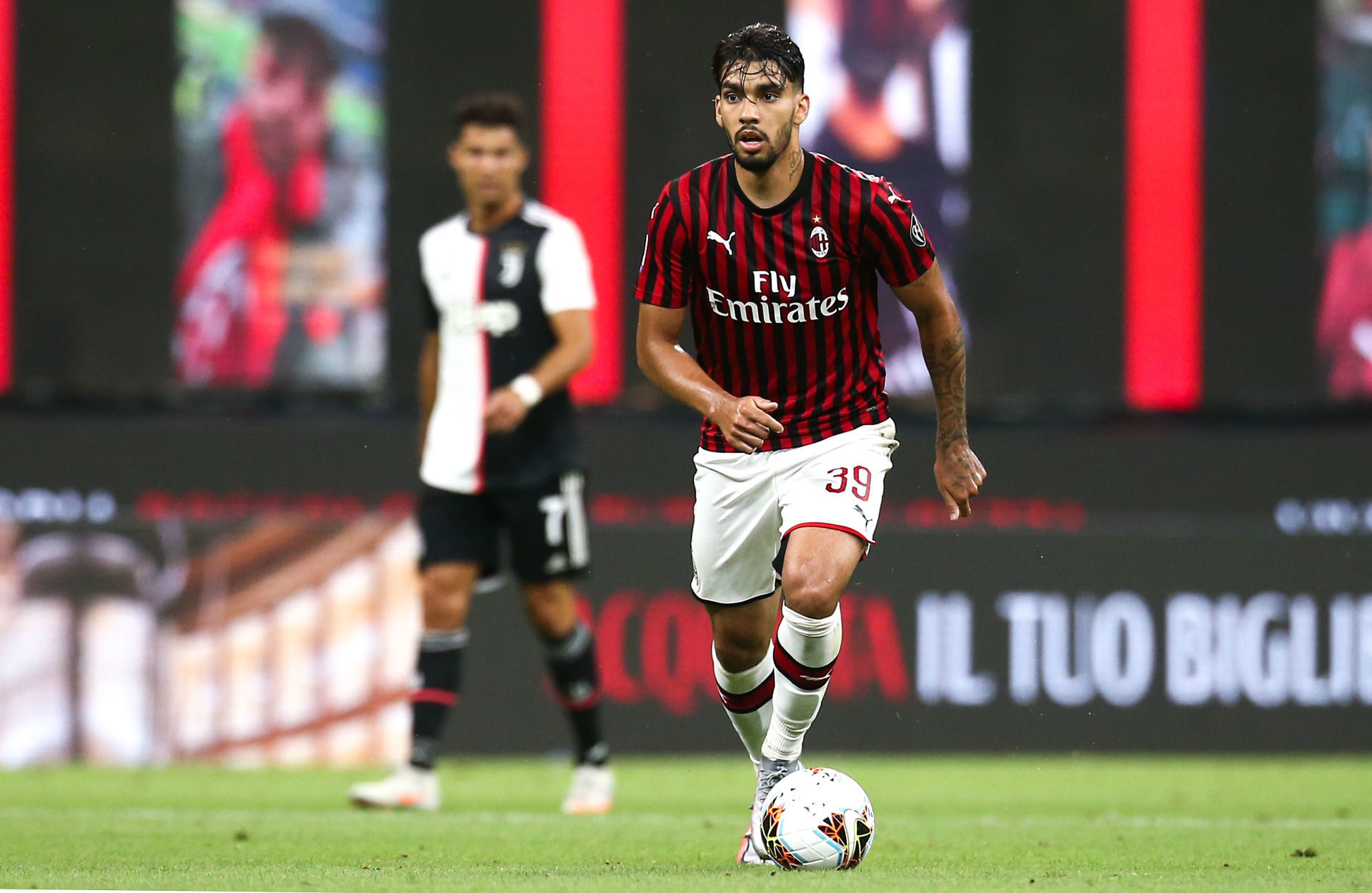 Le style de jeu de Lucas Paqueta, basé sur les dribbles et la prise de risque, ne convenait peut-être pas à l'AC Milan de l'époque. Icon Sport