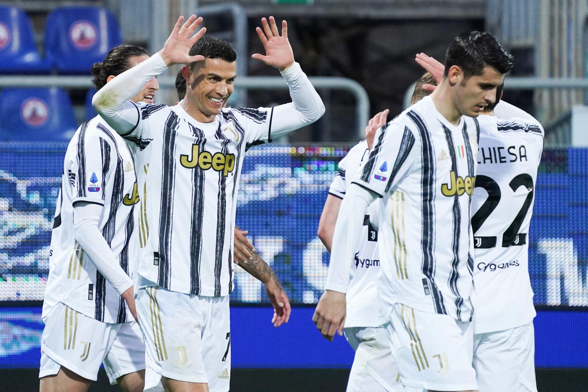 Les joueurs de la Juventus ont pu bénéficier de l'expérience et du professionnalisme de Cristiano Ronaldo. Icon Sport