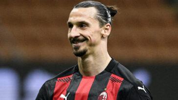 Zlatan Ibrahimovic sous le maillot de l'AC Milan (IconSport)