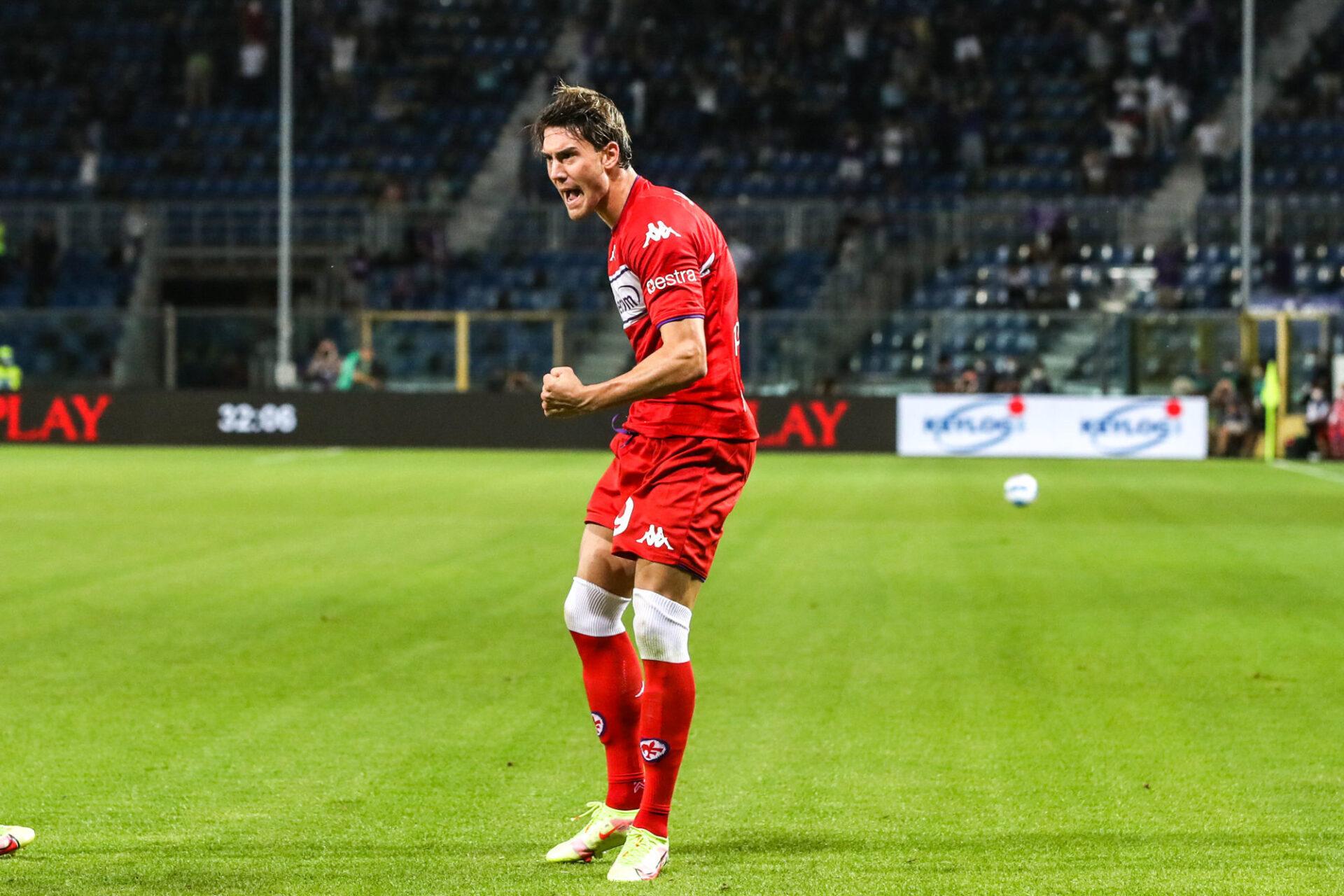 Dušan Vlahović en est déjà à 3 buts en 3 matchs de Serie A cette saison. Icon Sport