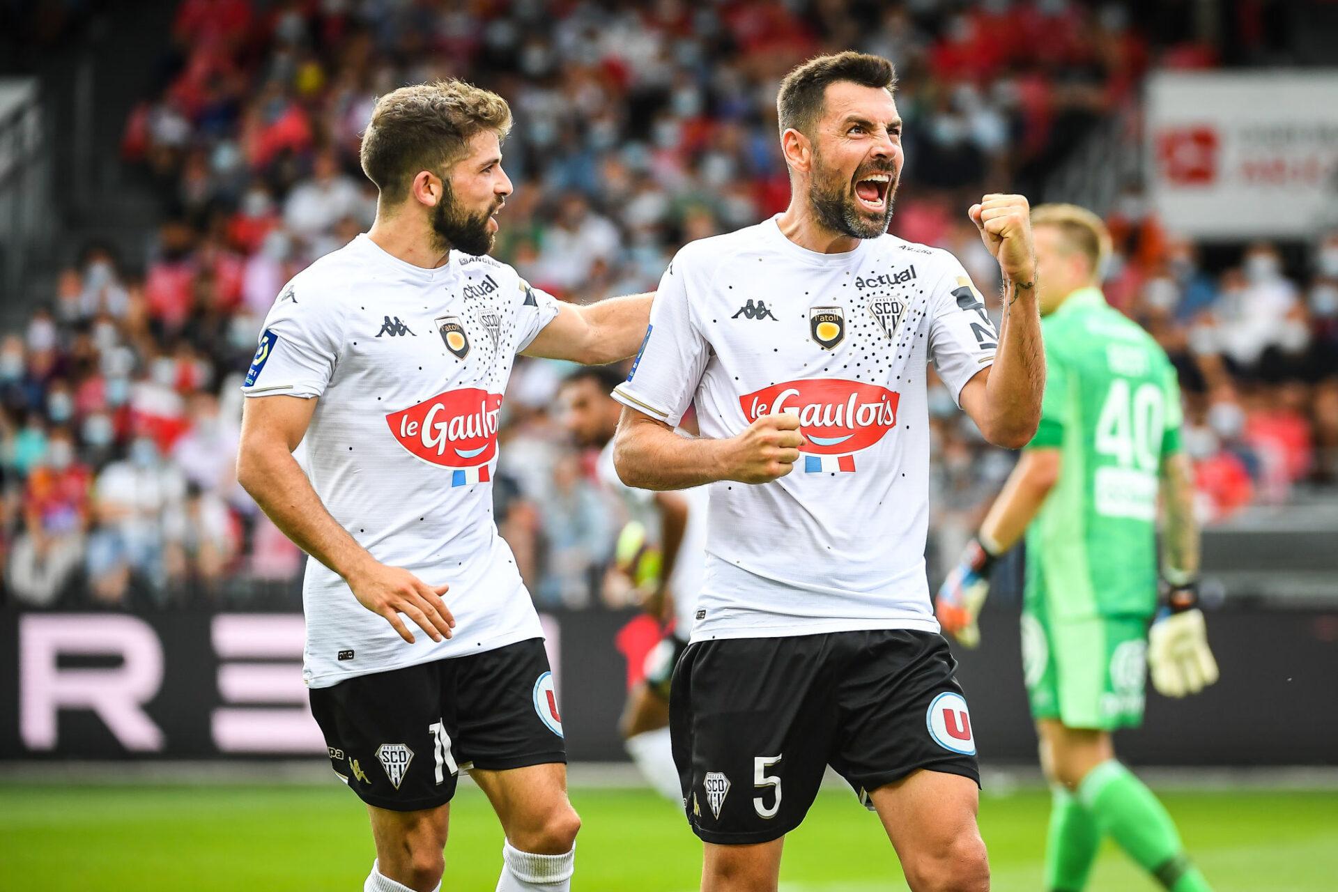 Thomas Mangani a permis à Angers de récolter un match nul à Brest. Icon Sport