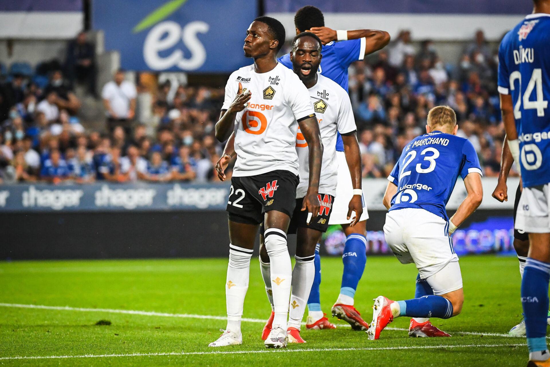 Timothy Weah était inarrêtable contre Strasbourg ce samedi 25 septembre. Icon Sport