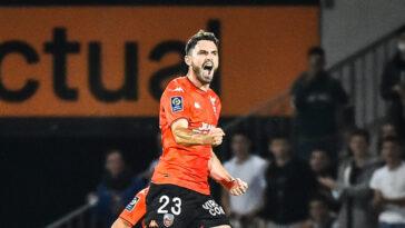 Le FC Lorient est cinquième de Ligue 1. Icon Sport
