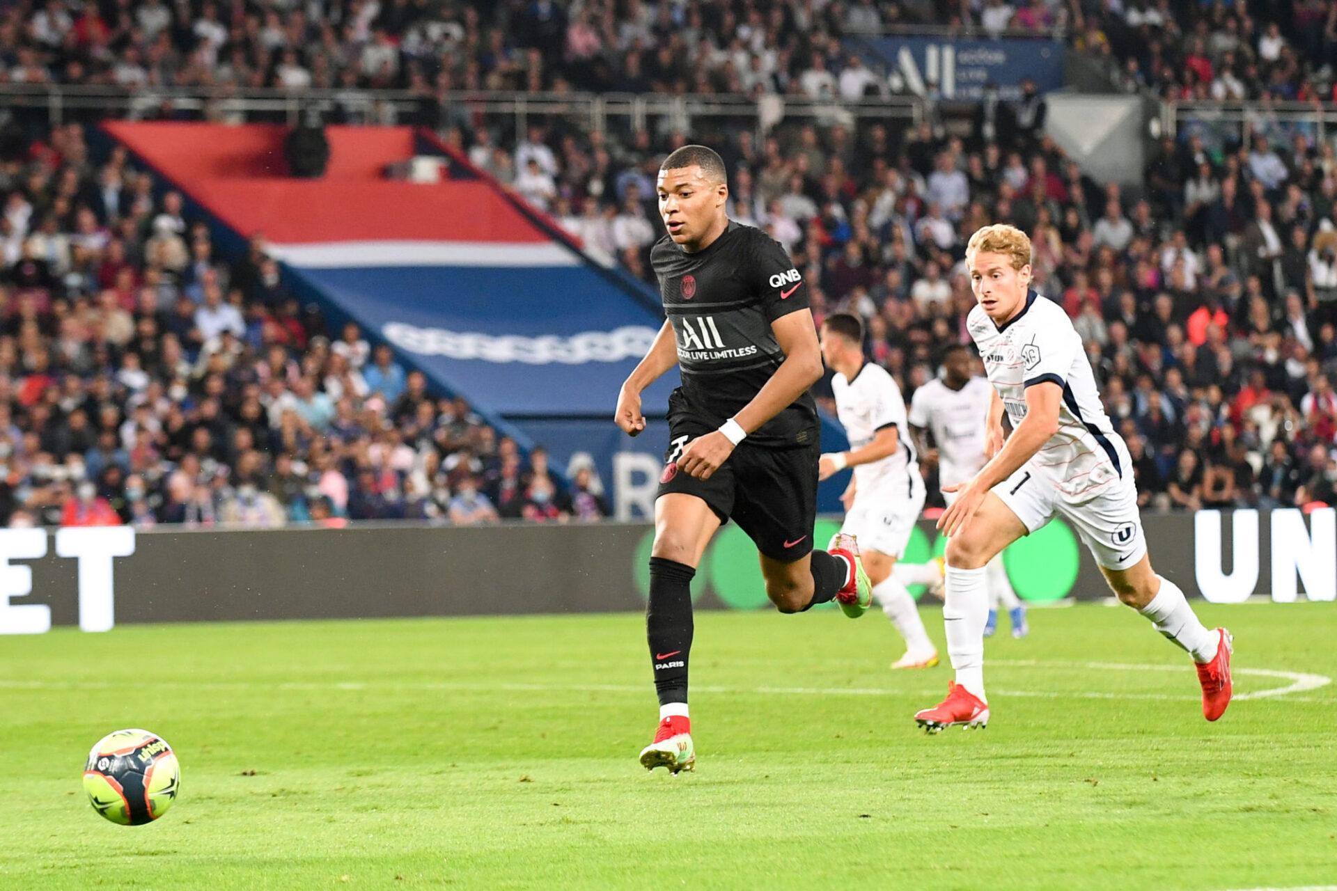 Kylian Mbappé n'a pas marqué face à Montpellier, ce samedi 25 septembre. Icon Sport