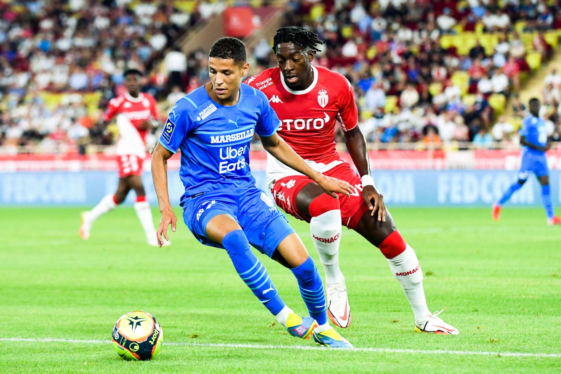 Amine Harit a été titularisé par Jorge Sampaoli dès son arrivée à Marseille. Icon Sport